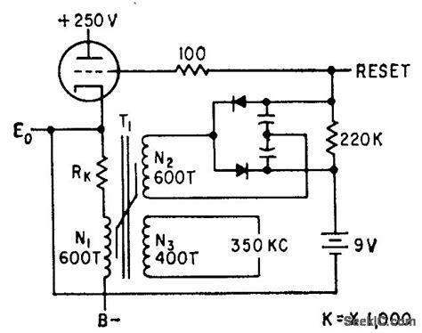 saturable reactor latch control circuit circuit diagram seekic