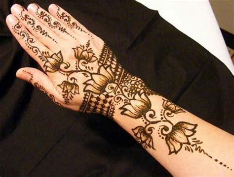 latest unique arabic mehndi designs for hands free download