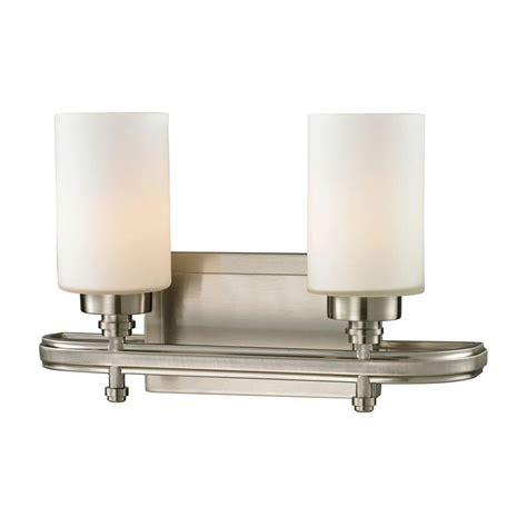 feit electric led 3 light bath vanity costcochaser feit electric 3 light 24 watt brushed nickel integrated