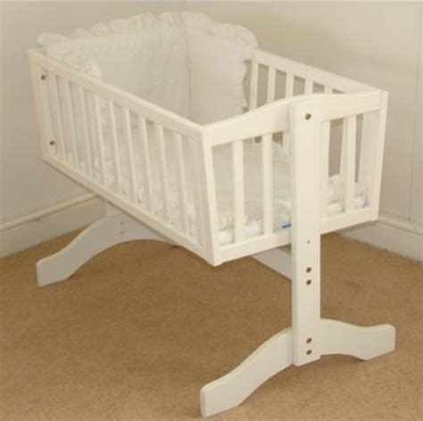 How Big Are Crib Mattresses Saplings Bethany White Swinging Crib With A Free Mattress Cribs