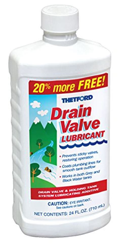 Faucet Lubricant by Thetford 15843 Drain Valve Lubricant 20 Oz 15843
