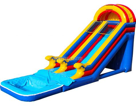 commercial bounce house bouncerland commercial inflatable water slide 2096