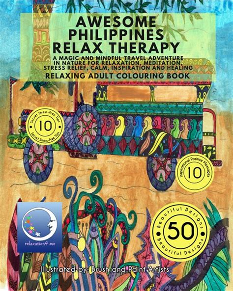 creative therapy an anti stress coloring book philippines 91 color therapy an anti stress coloring book