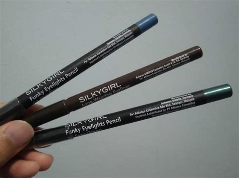 Eyeliner Silkygirl Spidol review silky funky eyelights pencil from