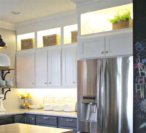 10 Diy Kitchen Cabinet Ideas Diy Led Cabinet Lighting