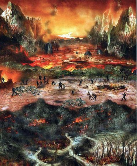 of hell biblical king saul is in hell millions of lost souls are