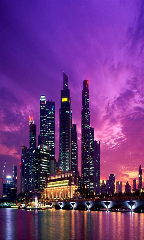 amazoncom singapore scenery panorama  wallpaper