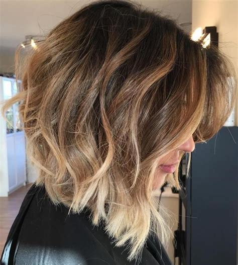 chocolate hair color with highlights for angled bobs 60 inspiring long bob hairstyles and haircuts brown