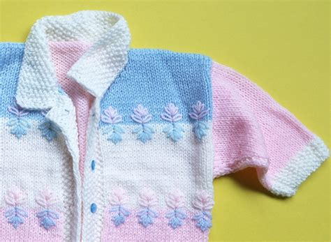 Handmade For Baby - handmade baby sweater jacket 6 9 months by craft