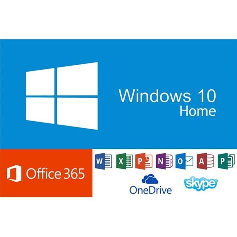 Microsoft Office Windows 10 by Microsoft Windows 10 Home Fr Office 365 Personal