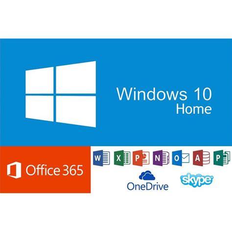 Windows Office 365 Microsoft Windows 10 Home Fr Office 365 Personal