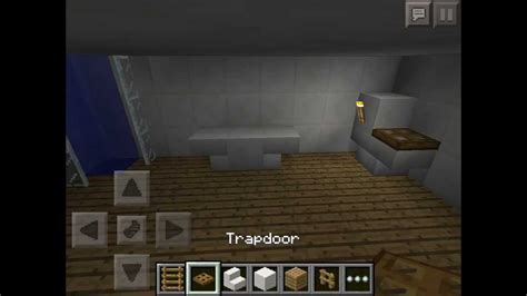 how to make a bathroom minecraft how to make minecraft pe furniture bathroom youtube