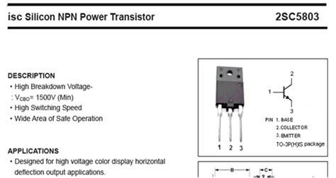cara mengukur transistor horizontal kharisma transistor regulator tv yang bagus 28 images fungsi transistor sebagai saklar 187 skemaku