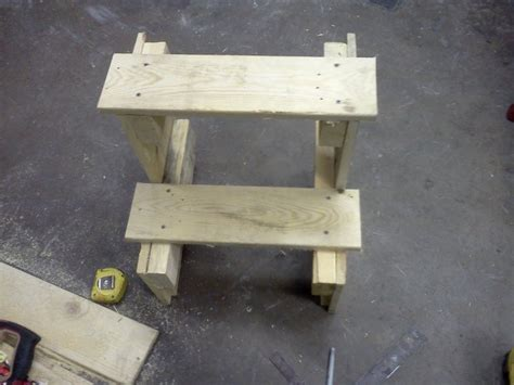 Pallet Step Stool by Pallet To Shop Step Stool By A Slice Of Wood Workshop