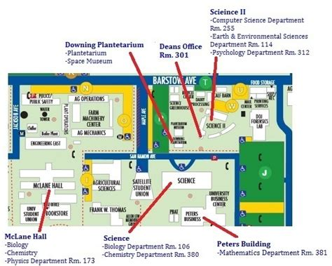 fresno city college map fresno state cus map