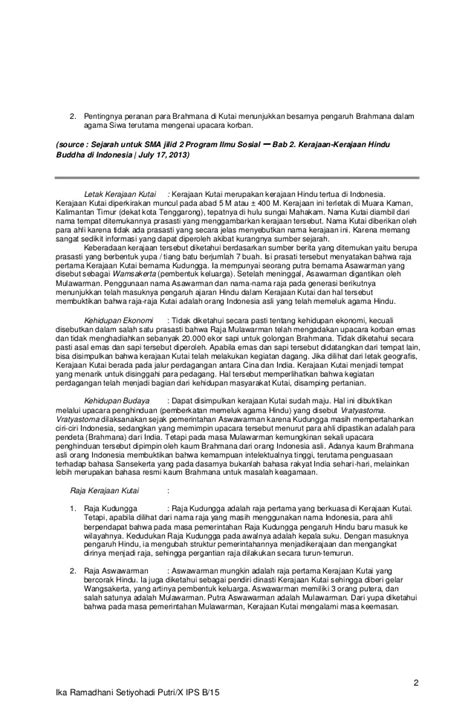 Artikel tentang Kerajaan Kutai (berbagai sumber)