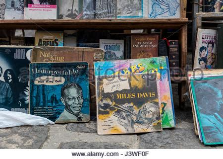 Records In Spain Secondhand Vinyl Records In A Record Shop Madrid Spain Stock Photo Royalty Free