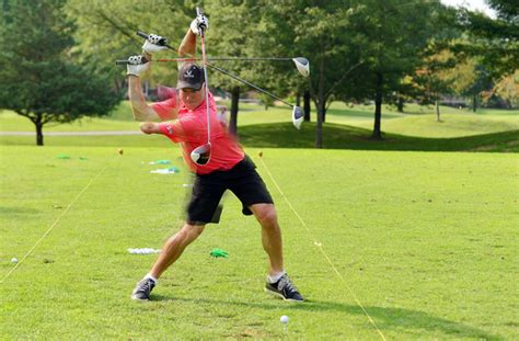 north american swing club association swing away local one armed golfer competes on world stage
