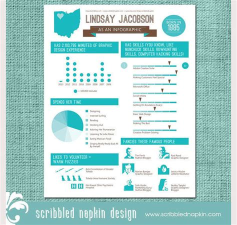 Graphic Resume Templates by 33 Infographic Resume Templates Free Sle Exle