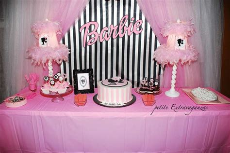 barbie themed birthday party vintage barbie birthday party ideas photo 6 of 11