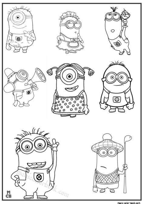 minion turkey coloring page minions free coloring pages for kids 01 doodles