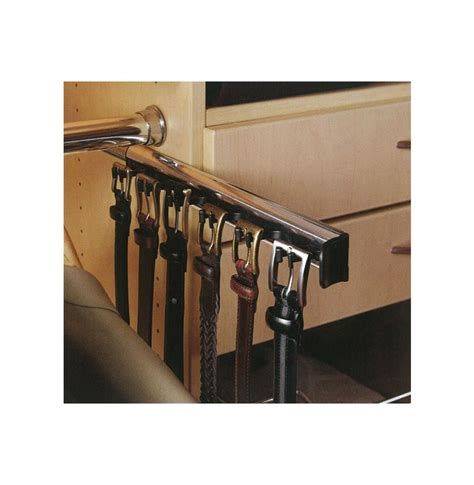 Closet Belt Rack by Belt Rack 6 Hooks Contempo Space