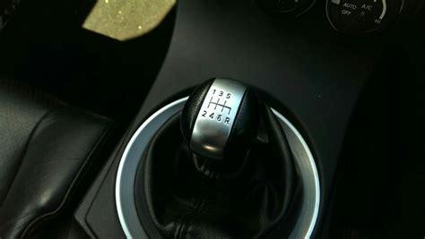 nissan black leather gear knob r35 gtr front seats