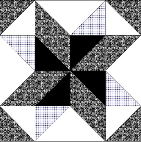 Black And White Quilt Block Patterns by Free Quilt Block Clip Page 11 Black White Clipart