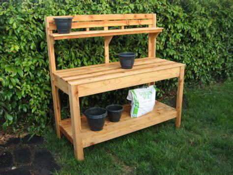 potting bench kits cedar potting bench from customraisedgardens on etsy studio