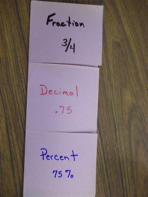 Fractions Decimals Foldable Decimals Pinterest