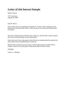 Letter Of Interest Template Microsoft Word by 30 Amazing Letter Of Interest Sles Templates