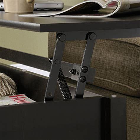 sauder edge water lift top coffee table sauder edge water lift top coffee table estate black