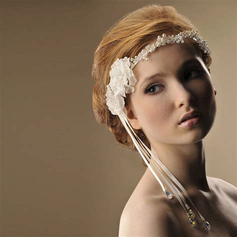 Handmade Wedding Headpieces - handmade florence wedding headpiece by rosie willett