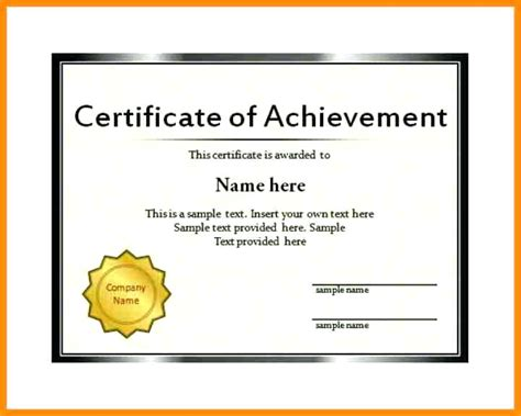 certificate template powerpoint gift certificate template unique