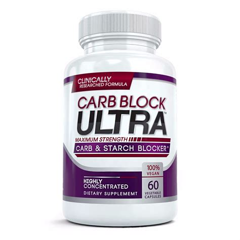 Wellness Starch Blocker Pelangsing Diet Karbohidrat 60 carb block ultra highly concentrated carb starch