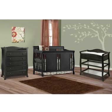 Storkcraft 3 Piece Nursery Set Verona Convertible Crib Convertible Crib And Dresser Set