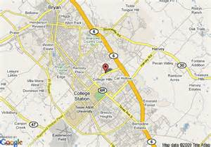 college station on map map of homewood suites college station college station