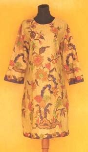 Tunik Kerut Atas grosir baju batik pekalongan batik pekalongan murah