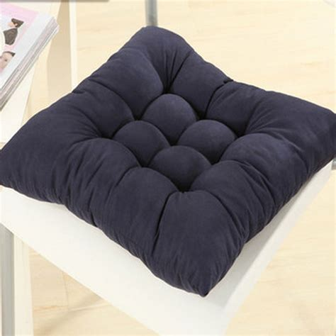 square garden seat cushions soft square cotton seat cushion home garden outdoor chair