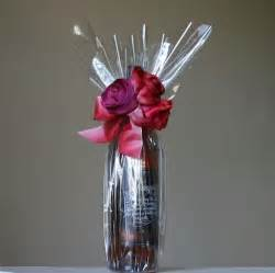 where to buy cellophane wrap for gift baskets cellophane bottle wrapping wrap it this way bottle wraps and gift