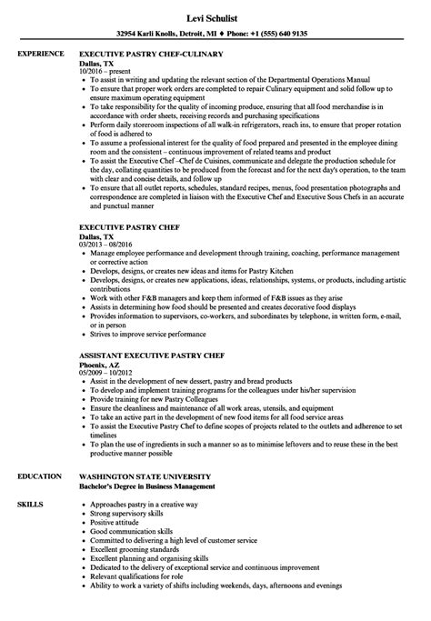 sample resume for cook position perfect format assistant pastry chef