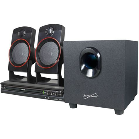 supersonic 2 1 channel dvd home theater system walmart