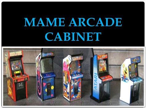mame cabinato mame arcade cabinet