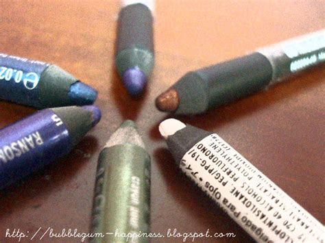Funky Eyelights Pencil Silkygirl 1 bubblegum happiness review silkygirl funky eyelights pencil comparison with nyx decay
