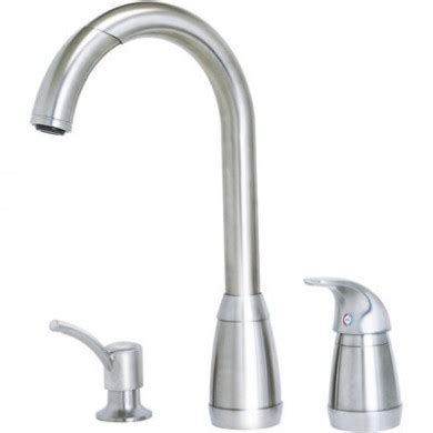 three kitchen faucets price pfister t526 5ss contempra 3 pull kitchen faucet stainless steel