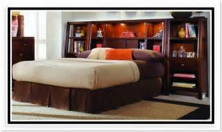 King Size Headboard With Storage And Lights by Bookcase Headboard King Size Home Design Ideas