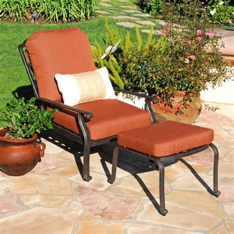 patio chair and ottoman best patio chair with ottoman inspire furniture ideas