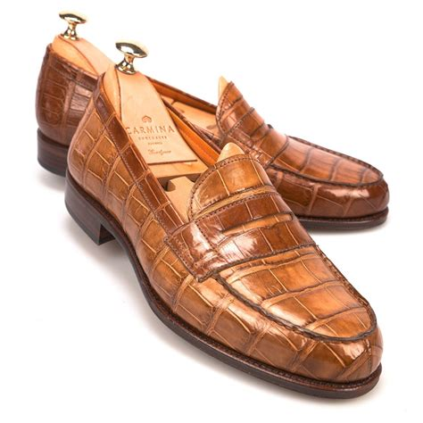 alligator loafers alligator loafers 80193 consell