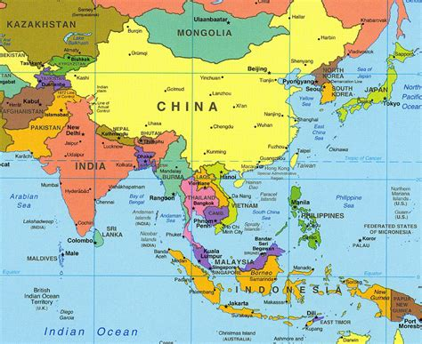 map of central and southeast asia south east and southeast asia thinglink
