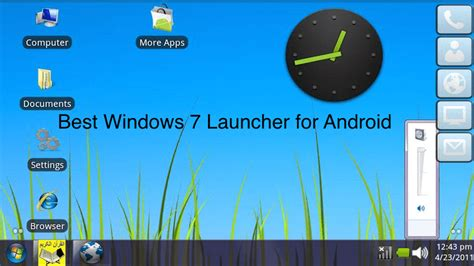 win for android real windows 7 launcher for android windows 7 features